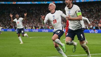 EURO 2021: L'Angleterre se défait du Danemark et rejoint l'Italie en finale
