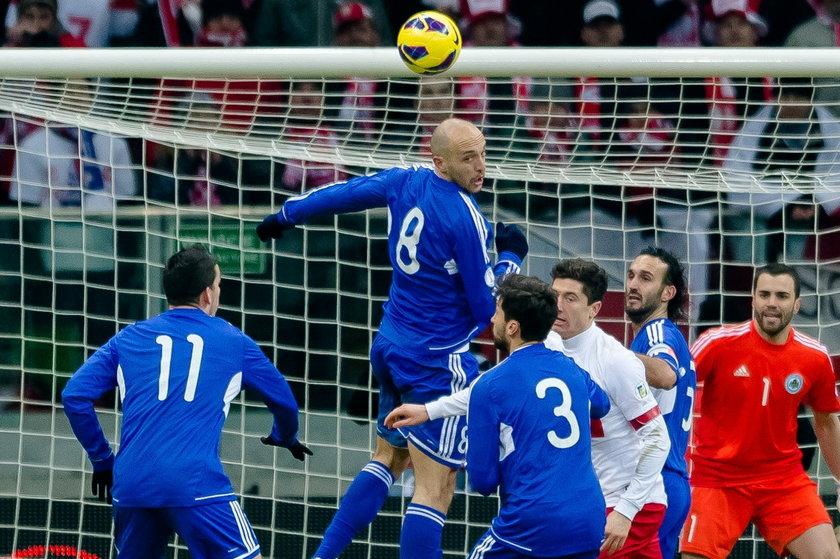 Eliminacje mistrzostw świata San Marino - Polska