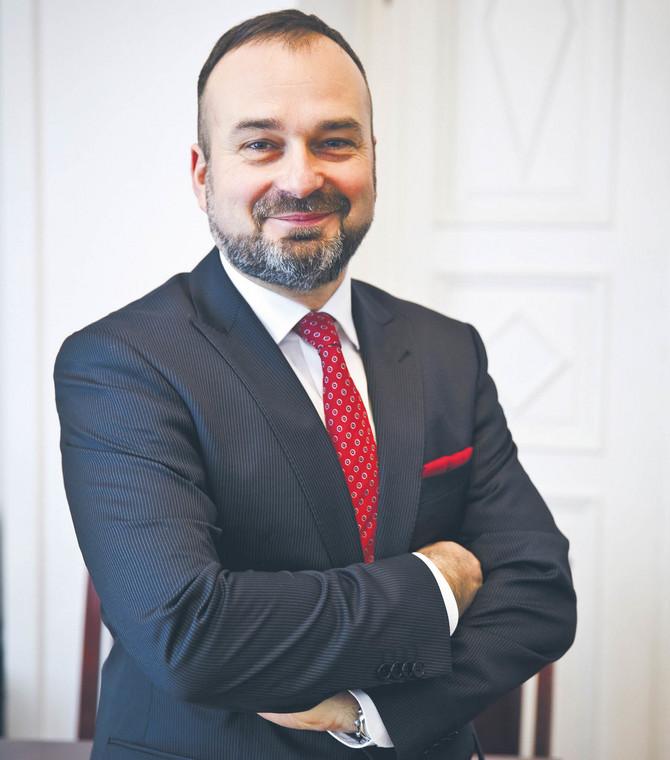 prof. Maciej Gutowski, dziekan Izby Adwokackiej w Poznaniu, kandydat na prezesa NRA  fot. Wojtek Górski