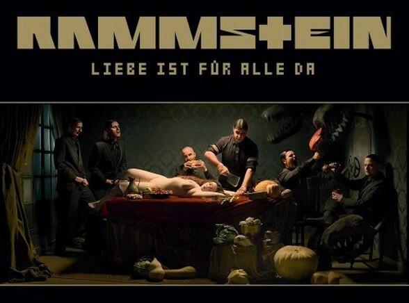 """Okładka płyty grupy Rammstein - """"Liebe Ist Fur Alle Da"""""""