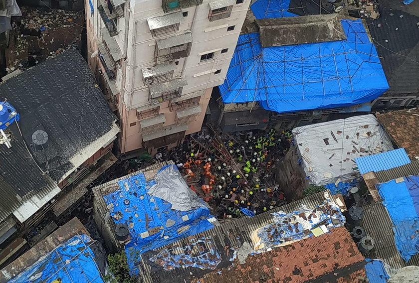 To już druga katastrofa budowlana w Bombaju w ostatnich dniach