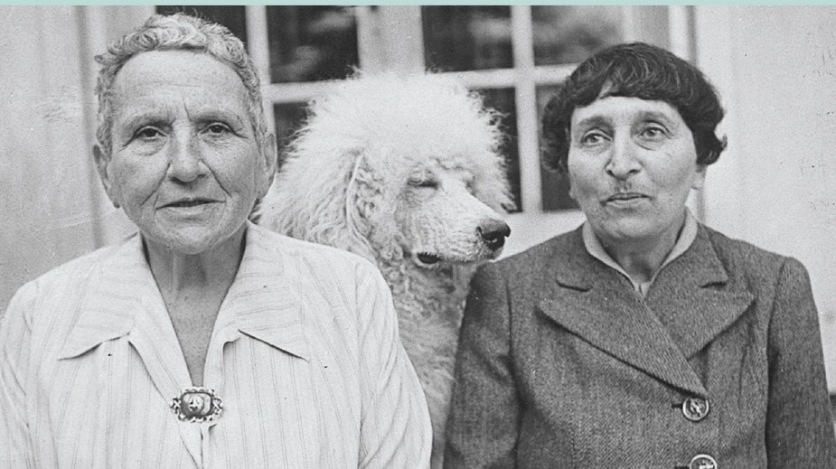 "Gertrude Stein, ""Autobiografia Alice B. Toklas"" (okładka)"