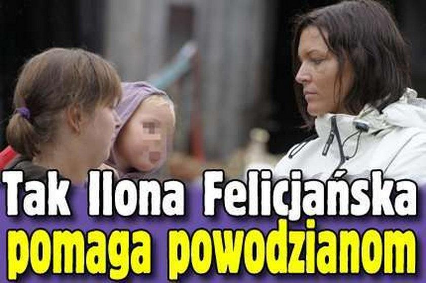 Tak Felicjańska pomaga powodzianom
