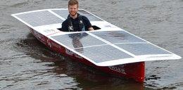 Słońce świeci, Baśka pływa. Studenci z AGH zbudowali łódź solarną