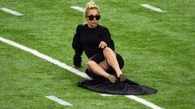 Lady Gaga pokazała bieliznę przed koncertem na Super Bowl