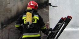 Rodzinna tragedia pod Kozienicami. Mężczyzna podpalił dom. W środku była żona i córka