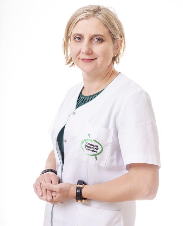 Lek. med. Joanna Pietroń, internista z Centrum Medycznego Damiana