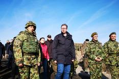 BLIC SAZNAJE Vučić sutra u poseti Vojsci u KOPNENOJ ZONI BEZBEDNOSTI