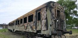 Wandale podpalili zabytkowy wagon