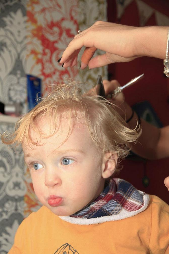Prvo šišanje je velika stvar i za dete i za roditelje