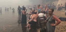 Potężne pożary w Grecji. Polacy są wśród ofiar. Utonęli podczas ewakuacji!