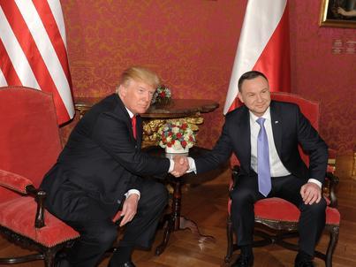 Administracja Donalda Trumpa uważa, że wzmocnienie obronności Polski leży w interesie USA