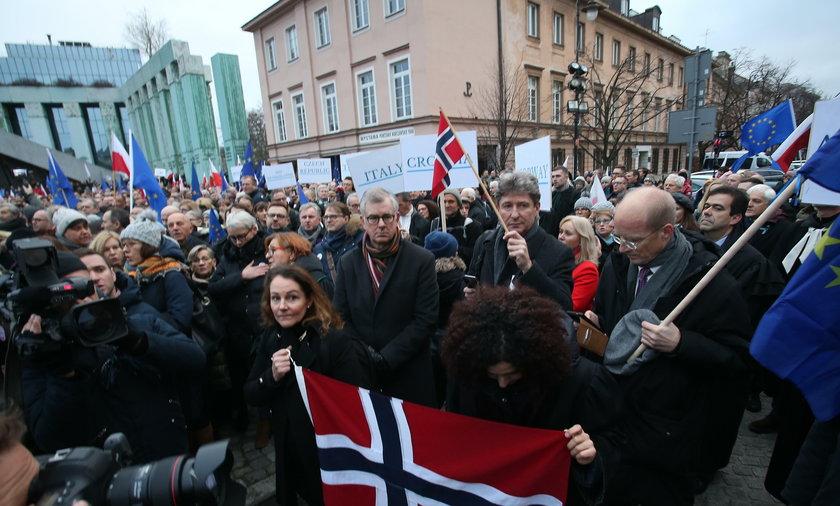 Marsz Tysiąca Tóg w Warszawie