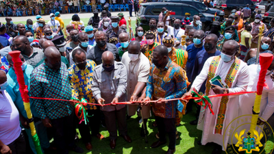 Akufo-Addo commissions GH¢10m yam and cassava processing factory in Oti Region