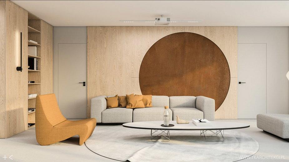 """Dwupoziomowe mieszkanie w stylu """"modern light"""" z loftowymi akcentami"""