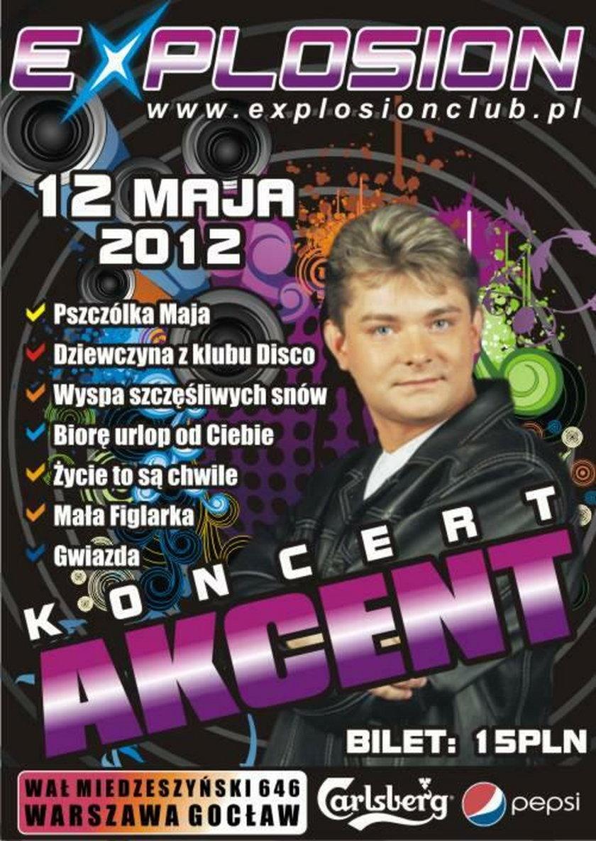 Zenon Martyniuk na plakacie