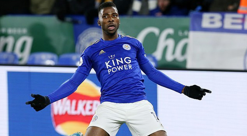 Nigerian forward Kelechi Iheanacho insists he is happy at Leicester City despite lack of playing time