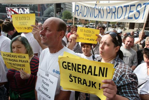 Štrajk u Goši je završen