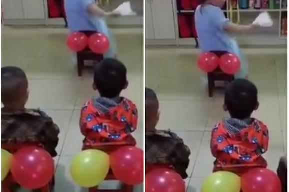 Snimak iz vrtića zbog kog su RODITELJI POPADALI U NESVEST: Pogledajte čas koji je deci spremila ova vaspitačica