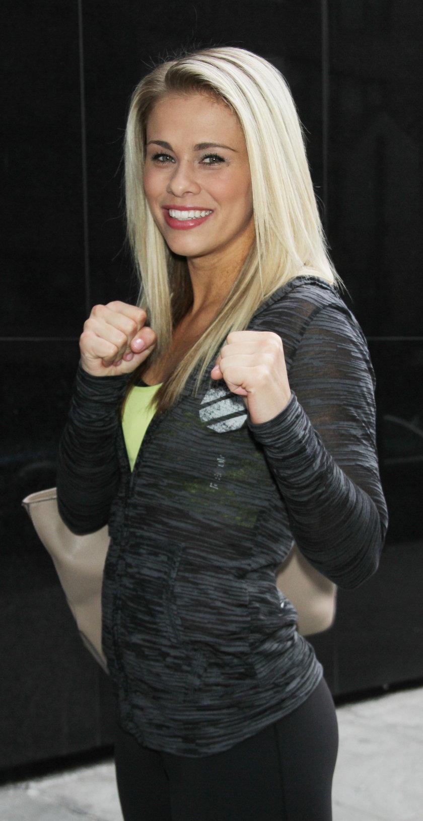 Ta piękność w ringu zamienia się w diablicę! Paige VanZant