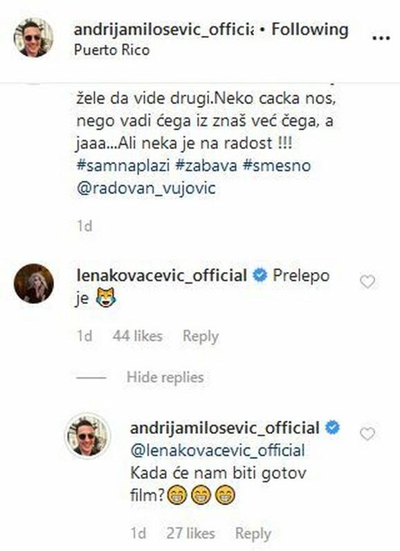 Objava Andrijina