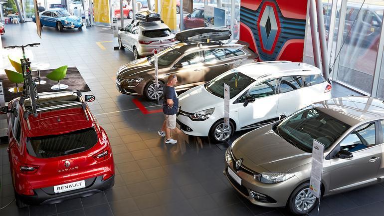 Salon sprzedaży Renault