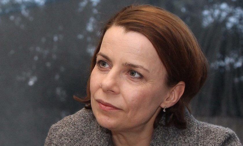 Agata Kulesza w serialu Krew z krwi 2