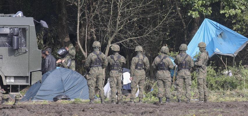 Agresywna próba przedarcia się przez wschodnią granicę. Dwóch żołnierzy rannych