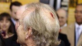 Zakrwawiony Bill Murray na premierze filmu