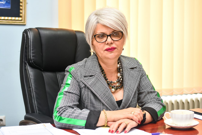Edita Stokić načelnica KCV
