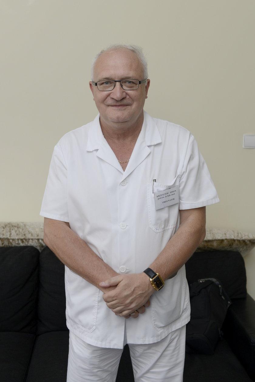 Zakaźnik, prof. Krzysztof Simon