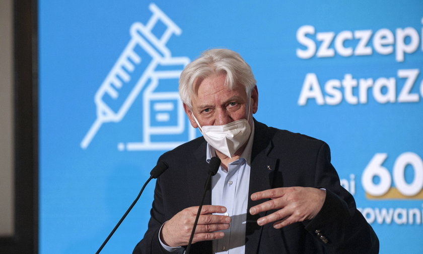 Przewodniczący Rady Medycznej przy premierze prof. Andrzej Horban.
