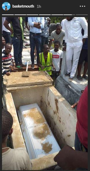DJ XGee finally laid to rest at the Ikoyi Cemetery