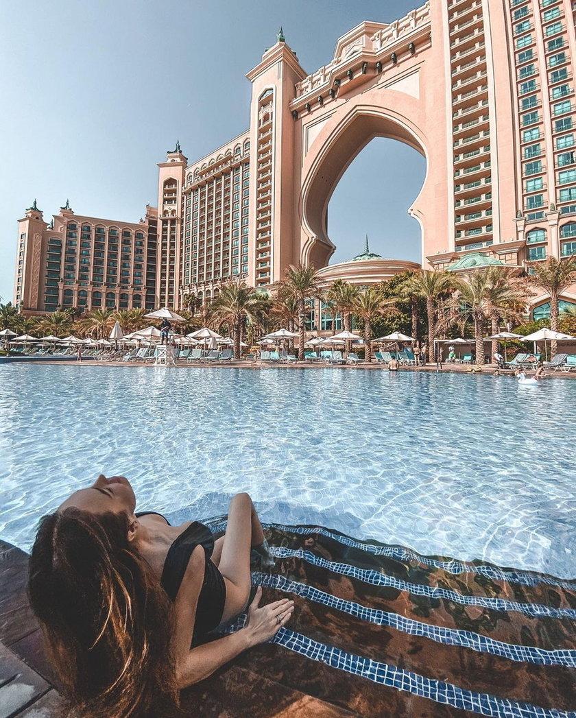 Anna Wendzikowska relacjonuje wczasy w Dubaju