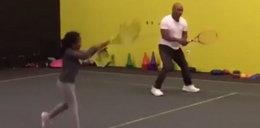 Mike Tyson zmienia dyscyplinę?! Zobacz nagranie