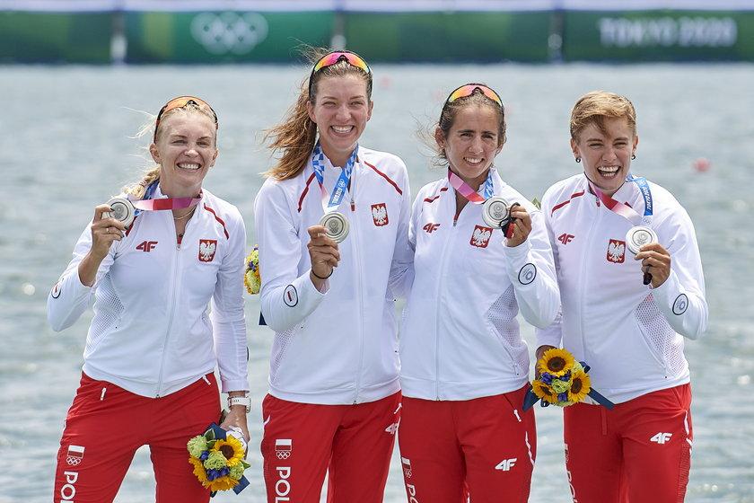 Wróciły z Tokio ze srebrnym medalem.