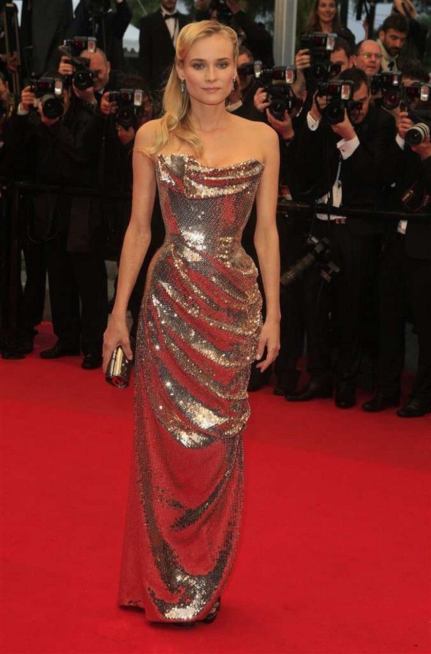 Suknie Diane Kruger Cannes 2012