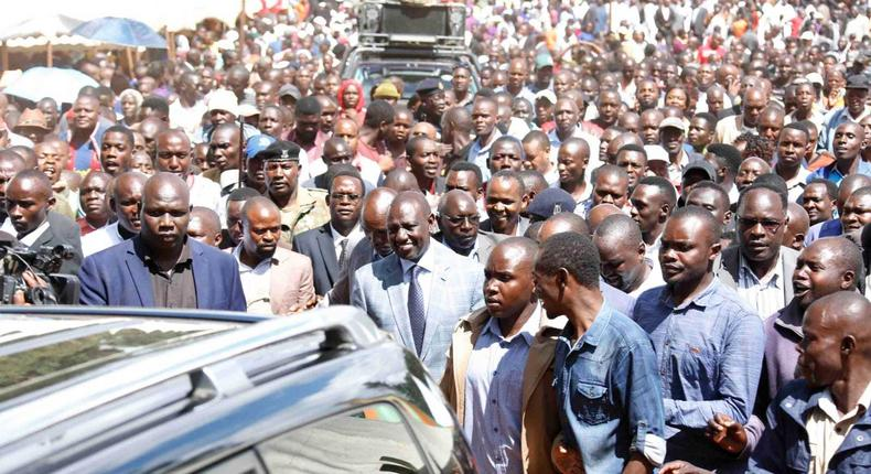 Deputy President William Ruto posts video to counter headline by Nation newspaper There's no stopping me, Ruto declares