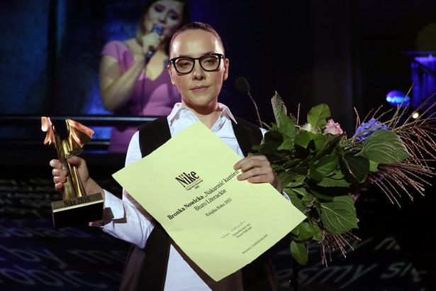 Bronka Nowicka została laureatką Nagrody Literackiej Nike