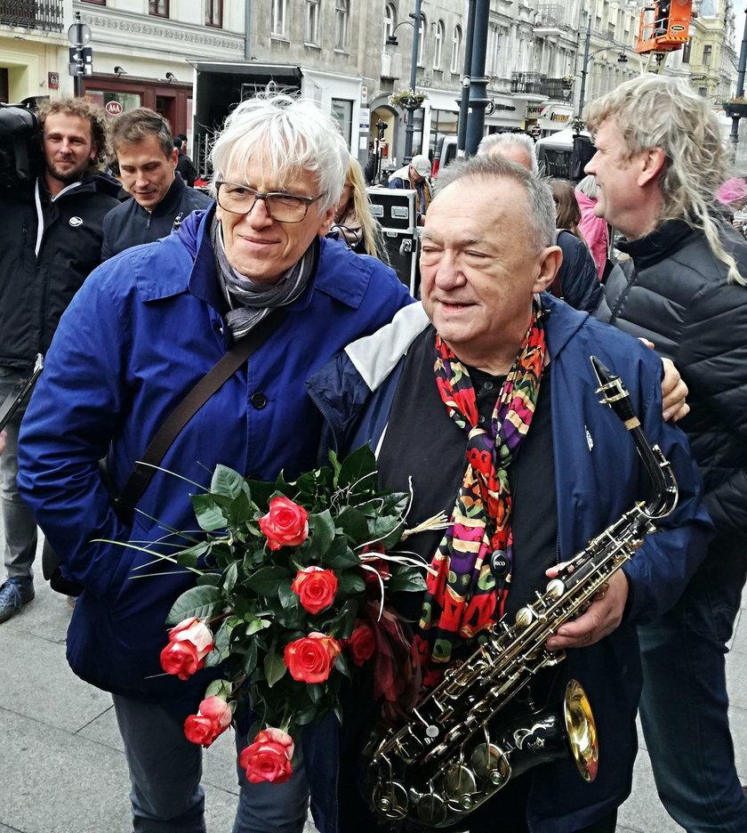 Jan Targowski i Michał Urbaniak