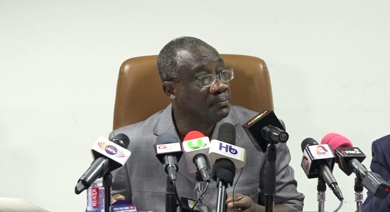 Commissioner General of the Ghana Revenue Authority, Emmanuel Kofi Nti