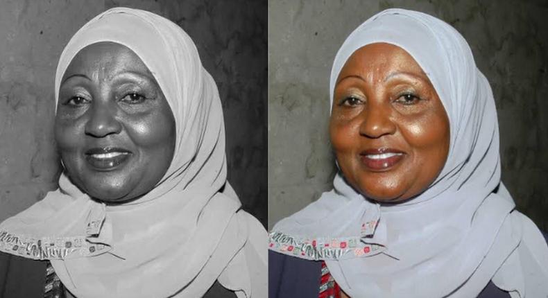 Former Kwale County MP Zainab Kalekye Chidzuga.