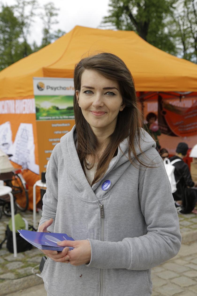Agata Grodzińska (26 l.) ze Stowarzyszenia Wyspa Słodowa 7