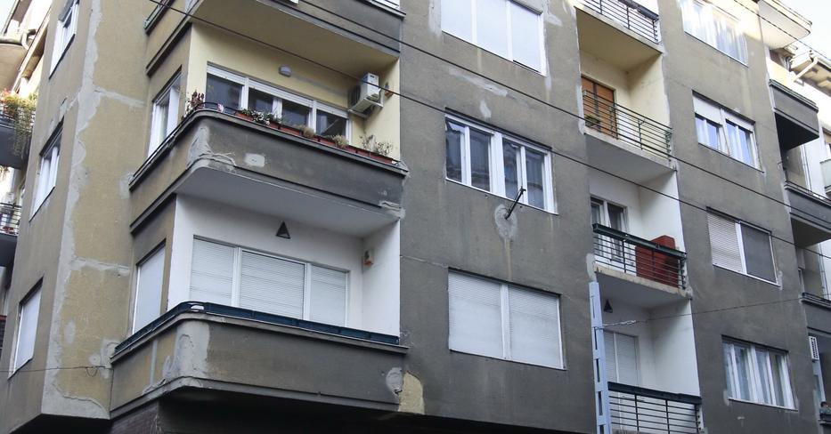 Ebben a Hollán Ernő utcai házban lakott egy ideig Anthony Blinken nevelőanyja, Vera / Fotó: Fuszek Gábor