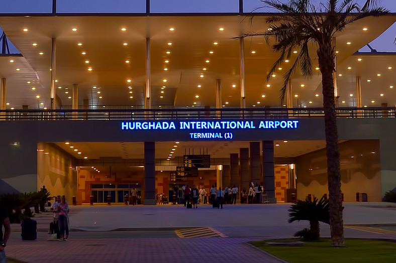 Hurghada International Airport.