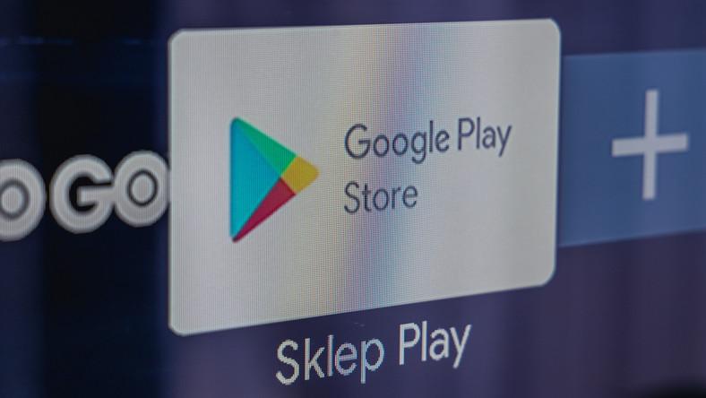 Logo internetowego sklepu z aplikacjami Google Play