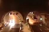 Saobraćajna nesreća autoput tunel prtscn