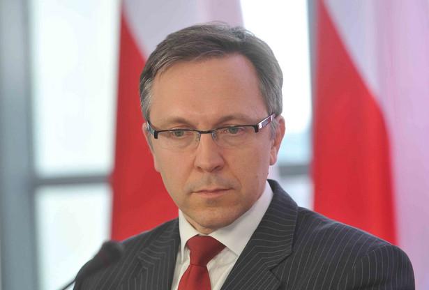 """Prof. Krzysztof Rybiński rektor Akademii Finansów i Biznesu """"Vistula"""" w Warszawie"""