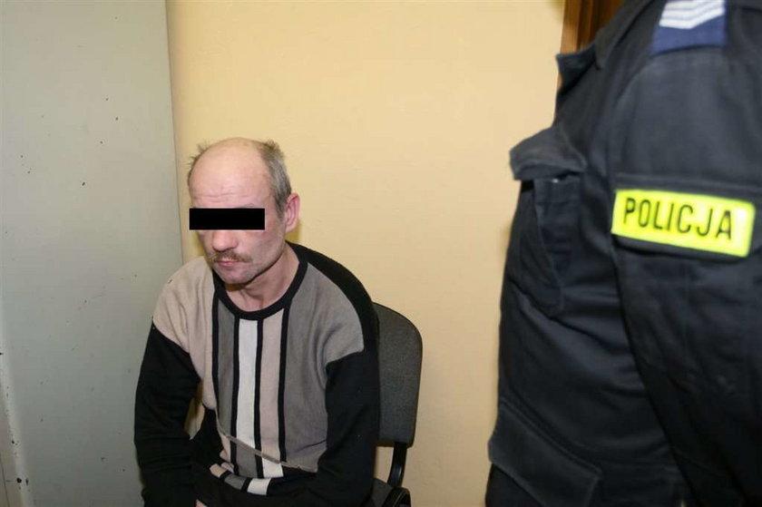 szabla, rana, atak, Piotr Derewlak