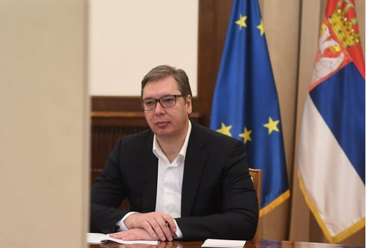 Vučić , sastanak sa predsednicoom vropske banke za obnovu i razvoj